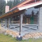 Prelata cu ferestre pentru terasa